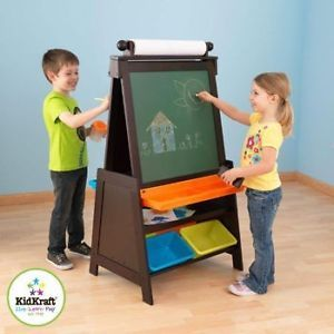 Kids Painting Easel New Art Artist Painting Chalkboard Sets Paint Play Easels
