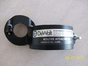 Dewalt Black Decker Router Attachment for Radial Arm Saws Catalog 35500