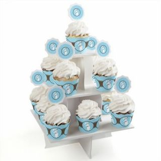 Mommy Silhouette It's A Boy Cupcake Supplies Baby Shower