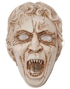 Doctor Who BBC Weeping Angel Face Vacuform Halloween Costume Mask