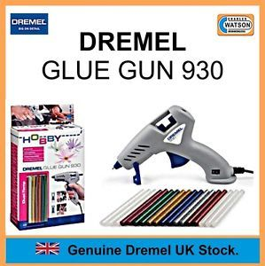 Dremel Multi Tool Accessories 930 Glue Gun Hobby Craft Dual Temperature 7mm