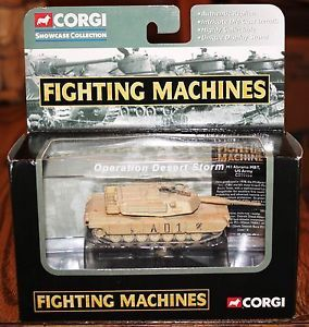 Corgi Fighting Machines M1 Abrams MBT Tank US Army CS90086 New