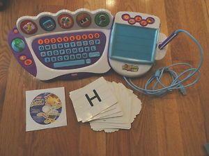 Fisher Price Fun 2 Learn Computer Cool School Leo's Classroom Flash Cards