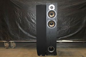 Polk Audio New Monitor 55T Two Way Ported Floorstanding Loudspeaker Black Each