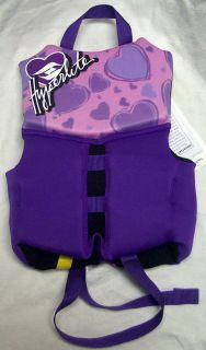 New Child Youth Life Vest Ski Jacket Type III Flotation 30 50 lbs Boy Girl Pink