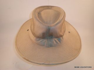 Jhats African Safari Adventure Hat Bush Canvas Mesh J Hats Khaki Costume