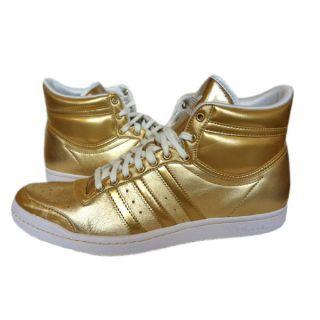 Adidas Top Ten Hi Sleek w Schuhe Sneaker Turnschuhe GR 40 41 42 43 44 Gold Neu