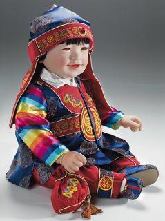 "Adora Dolls Kwan Korea Vinyl 22"" Baby Boy Toddler Was $160"