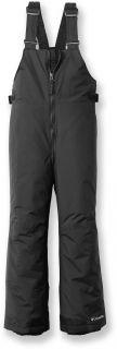 Columbia Sportswear Kids Black Snow Ski Pants Bibs 7 8 Perfect