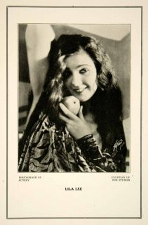 Silent Film Actress: Entertainment Memorabilia