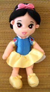 "Disney Princess Snow White Soft Body Plush Fisher Price 12"" Doll Lovey Toy"