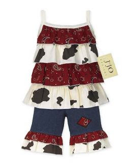 Western Girls Clothing Child Kids Baby Clothes 12M 18M