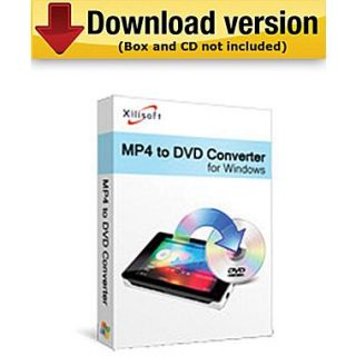 Xilisoft MP4 to DVD Converter for Windows (1 User) [Download]