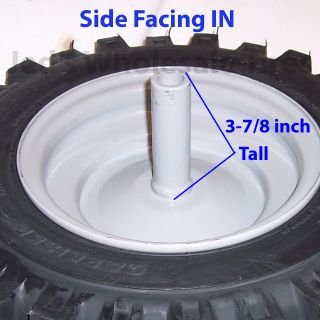 1 16x6 50 8 16 650 8 Snow Blower Thrower Tiller Tire Rim Wheel Assembly Left