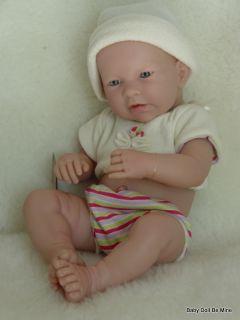 "New in Box Berenguer 17"" La Newborn Cream Shirt Real Boy 18102 Made in Spain"