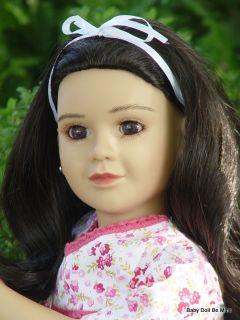 New in Box My Twinn Doll Marissa Dark Brown Eyes and Dark Brunette Hair
