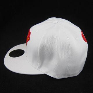 White New Superman Hiphop Cosplay Snapback Adjustable Baseball Cap Flat Hat Gift