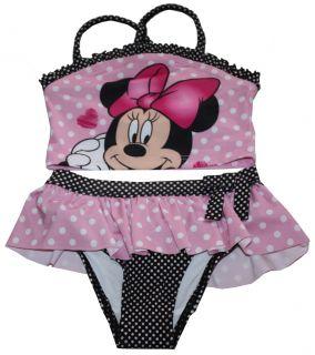 Disney Minnie Mouse Tankini Swimsuit Bathing Suit Infant Size 12 Months