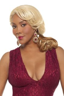 Vivica A Fox Natural Baby Lace Front Fish Braid Tilly Wig