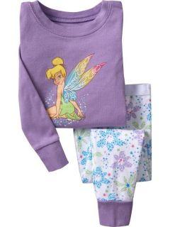 """Baby Toddler' Clothing Baby Girls Pajamas Sleepwear Kids Pajamas """"Fairy"""" 211"""