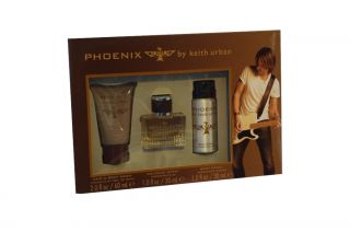 Keith Urban Phoenix Cologne Boxed Fathers Day Gift Set Spray Hair Body Wash New