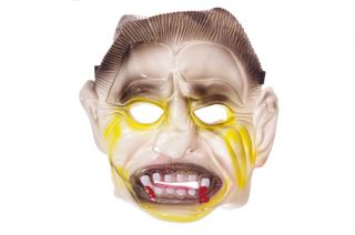 Scary Boys Halloween Mask Monster Vampire Fangs Costume Accessory Scary Mean New