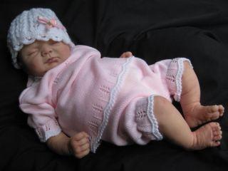 Hushabye Mountain Reborn Baby Girl Ivy Elisa Marx Newborn Look Tummy Plate