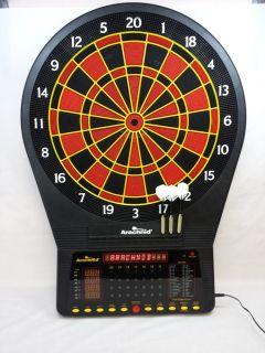 Arachnid E750ARA Cricket Pro Talking Electronic Dart Board with Set of Darts