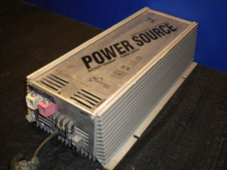 Power Source 75 Amp Battery Charger Power Supply Model PC 75