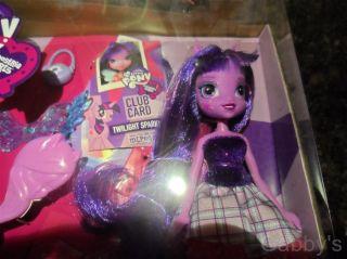 My Little Pony Twilight Sparkle Equestria Girls Doll w Pony Set MLP FIM BNIB