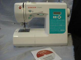 Singer 7258 Stylist Model Sewing Machine
