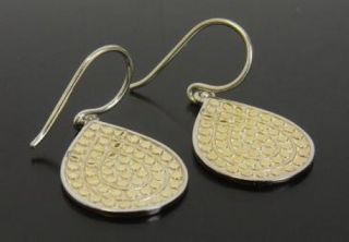 Anna Beck Women's Jewelry Gold Silver Lombok Divided Drop Earrings