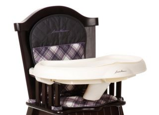 Eddie Bauer Classic Wood Baby Child Toddler High Chair Brooke HC091BCD