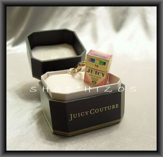Authentic Juicy Couture Color Box of Crayons Charm