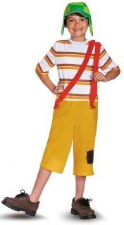 Child Boys Mexican TV Show Cartoon Character El Chavo Animado Deluxe Costume