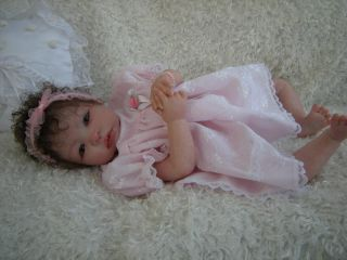 "Reborn Baby Shyann by Aleina Peterson Gorgeous Curly Haired ""Isabel"""