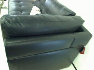 Coaster Furniture Darie Leather Sectional Sofa with Left Side Chaise Box 1 of 2