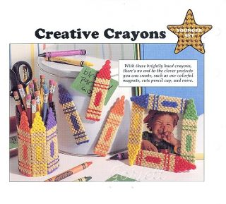 Pet Pals Holders Bookmarks Creative Crayons Plastic Canvas Patterns