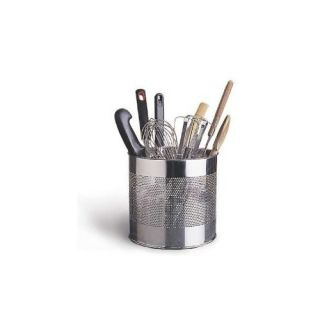 ... RSVP Kitchen Utensil Tool Caddy Holder Crock Spatula Knife 18 10  Stainless Steel ...