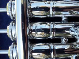 "Used Yamaha Xeno Artist Model ""Chicago"" Series C Trumpet 9445CHS"