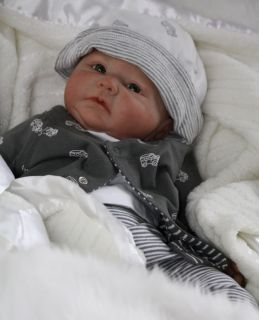 ♥ Doves Nursery ♥ Welcomes Reborn Downs Syndrome Baby Boy ♥A Denise Pratt Sculpt