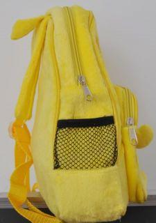 BG0024 Boy Girl Kids Spongbob Yellow Cutton Children Backpack Bag
