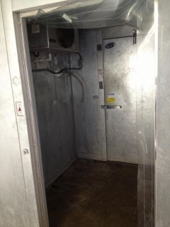 "Leer 93"" x 150"" Walk in Cooler Freezer Combo w Floor Compressors 8' x 12'"
