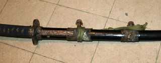 Antique Katana Samurai Sword Tachi Cavalry Officer 19c