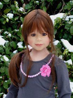 "Masterpiece ♥ Brooklyn ♥ Monika Levenig 44"" Brunette All Vinyl Doll 11 Joints"