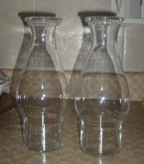 Novelty Rum Glasses Shaped Like A Hurricane Lamp 2 32 oz Glass Mixed Drinks