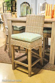 Capris Furniture Driftwood 5 Piece Beach Dining Room Set