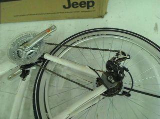 Jeep Compass Men's Hybrid Bike 700c Wheels 20 inch Frame
