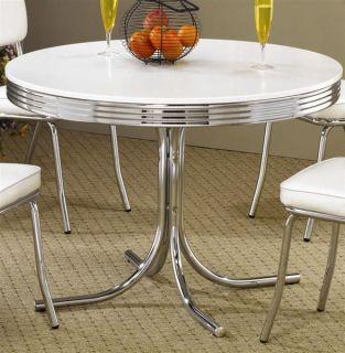 Retro 50's Soda Fountain Table by Coaster Furniture 23