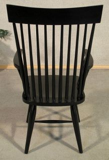 ... Pair 2 Black Windsor Spindle Dining Arm Chairs Free S H ...